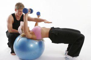 Un buon personal trainer può motivare le celebrità